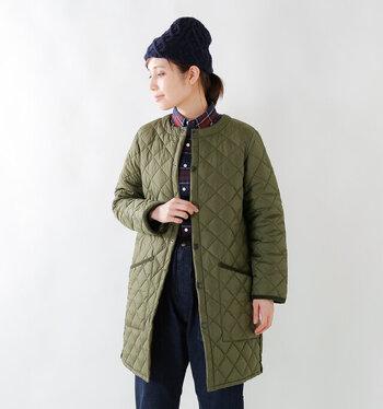 秋~春まで着回す。キルティングジャケットおすすめ4ブランド