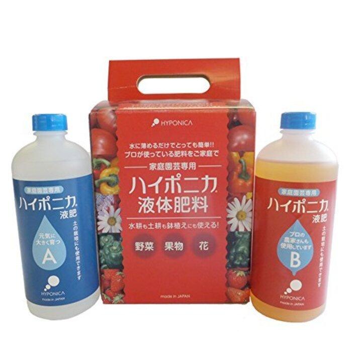 ハイポニカ 水耕栽培 液体 肥料 500mL 【ブルーラグーン保証正規品】