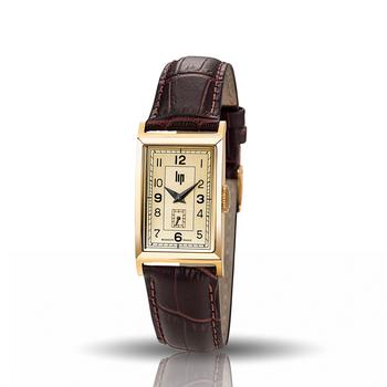 フランスから元イギリス首相に贈られたことから「チャーチル」と名付けられたこちらの時計。フレンチ・レトロらしい装飾的な文字盤が、他にはない上品なかわいらしさを演出しています。