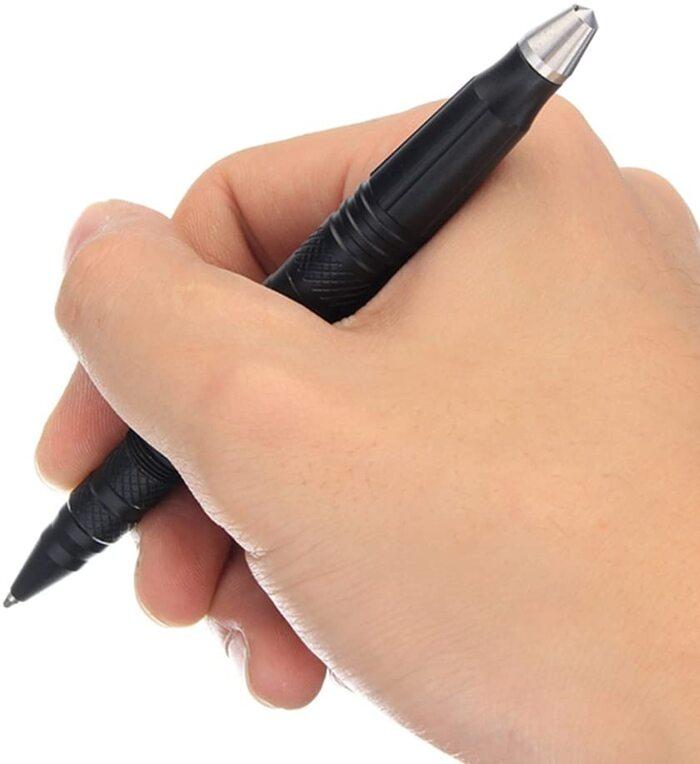 高品質 4in1タクティカルペン LEDライト付き