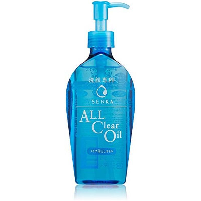 洗顔専科 オールクリアオイル 洗い流し専用 メイク落とし 230ml