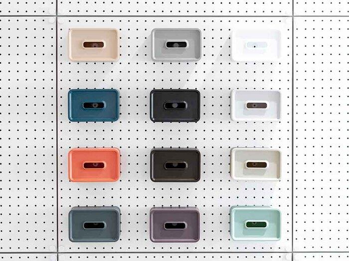カラーは12種類から選べます。ベーシックなカラーから、お部屋のアクセントになる鮮やかなカラーまで揃っているのが嬉しい!