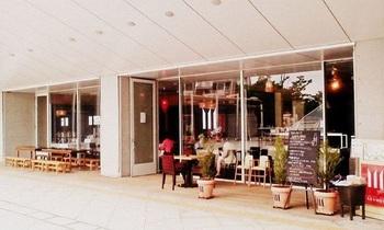 敷地内「パーシモンホール」の1階にある、野菜たっぷりなイタリアンが好評なレストラン。