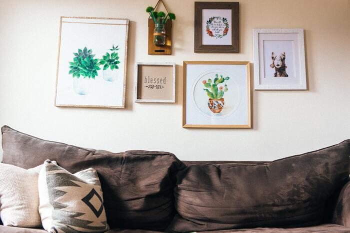 おうちが小さな美術館に。自宅に「アート」を取り入れる20の方法