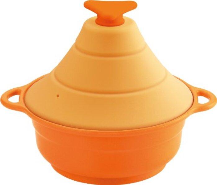 シリコーンマルチスチーマーレンジde3役 オレンジ
