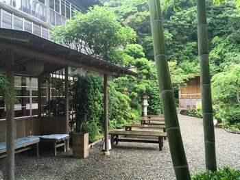 日本庭園を眺めながらのお食事は、とても贅沢な時間。日々の忙しさを忘れて優雅に過ごしたいときにぴったりです。
