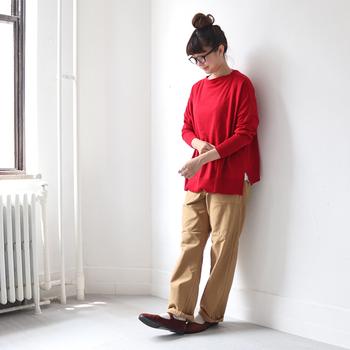 おしゃれさんは「赤」をどう着こなしてる?大人のレッドコーデスタイルBOOK