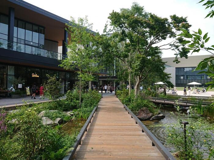 新しい商業施設がオープン♪空と緑と光溢れる【立川北口エリア】をお散歩しよう