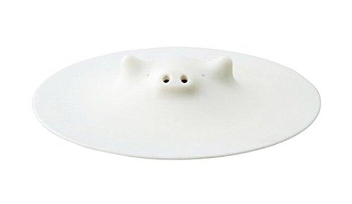 マーナ(MARNA) ブタの落しぶた ホワイト 17.5cm K092