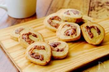 さつまいもと小豆、黒糖、豆乳で作るしっとり食感のクッキー。体を温めて胃腸を元気にする効果があるので、疲れている時のおやつにぴったりです。