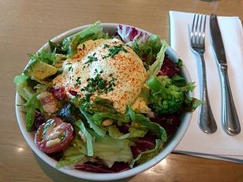 池袋にある「MORE SALAD(モアサラダ)」は、10種類以上あるベース野菜とのトッピングをお好みでカスタム。自家製ドレッシングも自慢です。