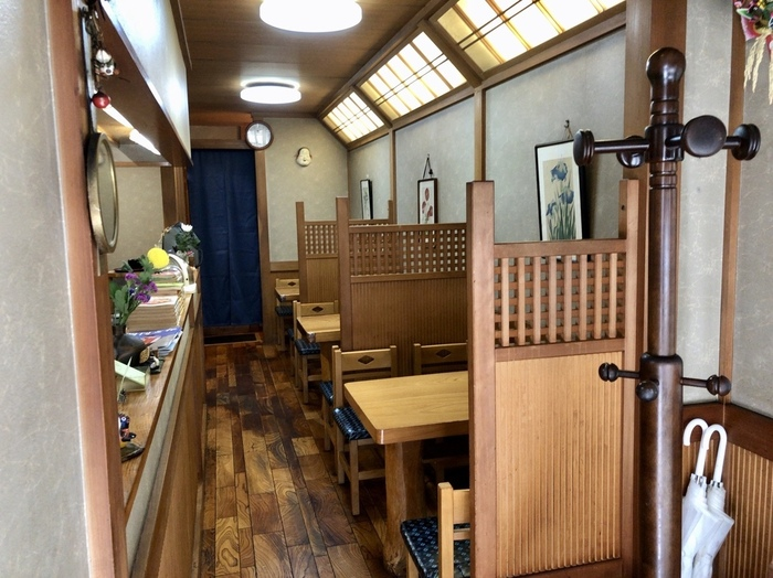 アットホームな店内は心落ち着く空間。代官山という一等地にありながらも、ゆったりとした時間を過ごせます。