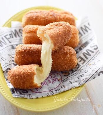 数年前、一世を風靡した韓国風チーズドッグ「ハッドグ」。身近な材料でできるから、お子さんと一緒に作ってみてはいかがでしょうか?