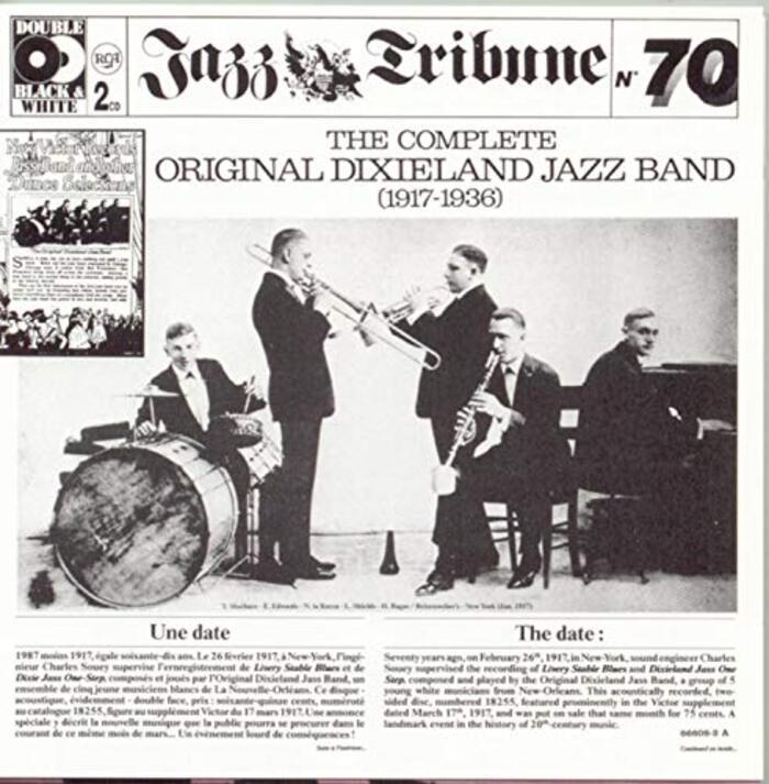 Complete Original Dixieland Jazz Band (1917-1936)