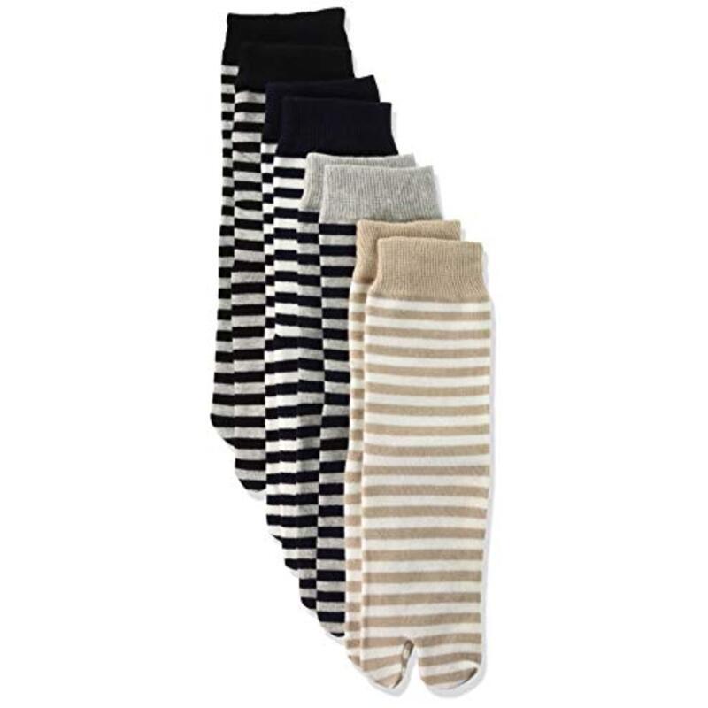 クチゴムカイカク|ゆったり足袋 締め付けない 4足セット 表糸綿100%