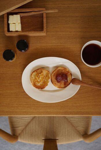 カリっモチっが美味しいね♪食べ方いろいろ「イングリッシュマフィン」のレシピ