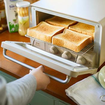 こんがり、とろり。おかずからデザートまで!「トースター」で作るお手軽・調理レシピ