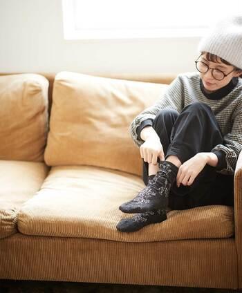 おしゃれは足元から!秋に履きたい可愛い靴下12選