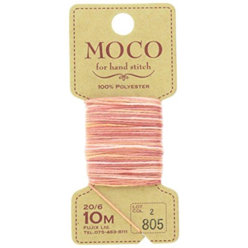 フジックス MOCO モコ グラデーション (手縫いステッチ糸)  10m col.805