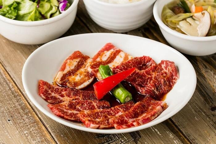 こちらでは、お肉に合うワインも多数用意されています*お肉とワインのマリアージュを楽しむ、贅沢な時間が過ごせます。