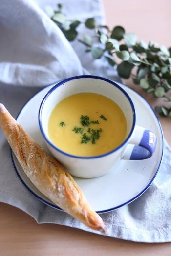 身体がほっこり温まるよ♪缶詰で作れる、簡単「コーンスープ」の作り方