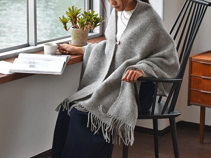 【楽天市場】クリッパン ストール マフラー  65×200cm グレー ウール :cortina 北欧生地と雑貨のお店