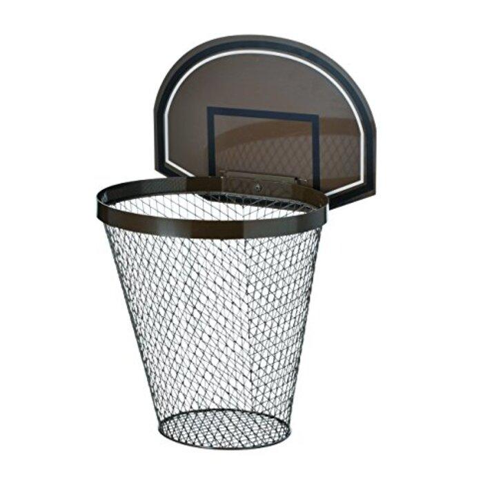 セトクラフト CLASSIC SPORTS OF UNIVERSITY ゴミ箱 L(バスケット) ブラック・SI-3952-BK-380