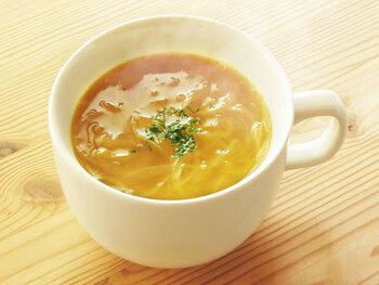 アメ色玉ねぎは冷凍保存ができるので多めに作ってストックしておくのもいいですね。玉ねぎの甘さと旨味、香ばしさが心ゆくまで味わえます。
