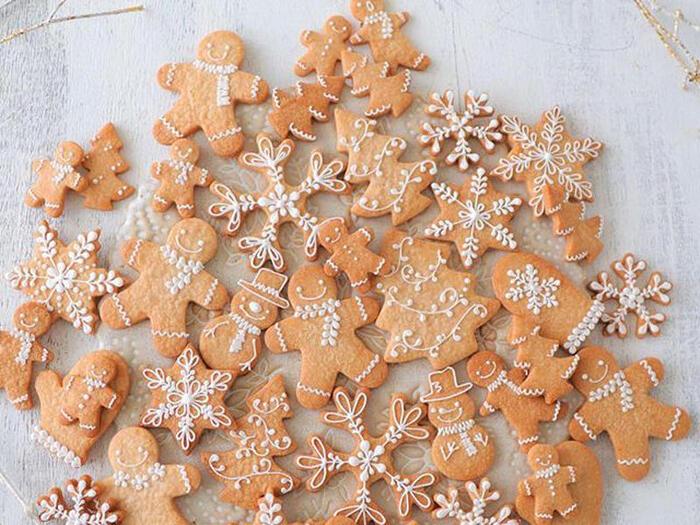 映画の中にも登場することで有名なジンジャーブレッドマンクッキー。生姜を使って作るクッキーは、冬にぴったりのお菓子。ヨーロッパを中心にアメリカでこよなく愛されているクッキーです。