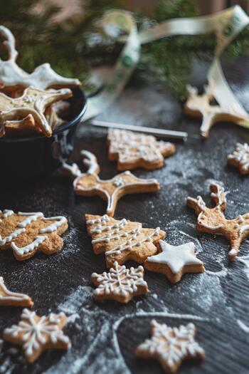 クリスマスの思い出づくり♪「クリスマスクッキー」の活用アイデア&レシピ
