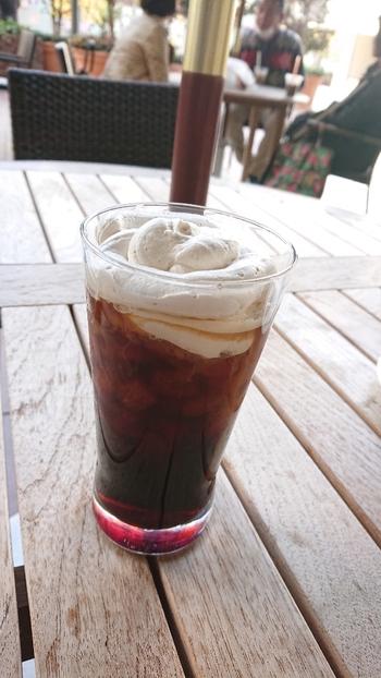 サンマルクカフェではアイスのウィンナーコーヒーを楽しむこともできるんです。季節や気分に合わせて選んでみてください。