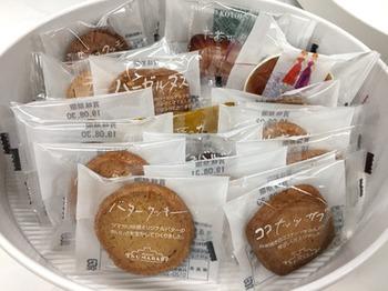ツマガリで特に人気なのがクッキー。自家製バターをはじめ、こだわって選んだ素材が使われています。色々な種類があるのも魅力。