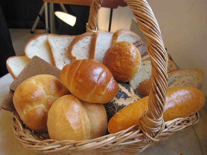 また、フロインドリーブはパンにも定評があり、本格的なドイツ系のパンが楽しめます。吉田茂元首相が、毎朝ここのパンを食べるために空輸をさせていたということでも有名。