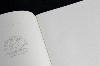 ノートやルーズリーフには、いろいろな紙を使ったものがあります。罫線のもの、方眼のもの、無地のもの。それぞれに良さがあり、自分が書きやすいものを選べばOKです。  文字間隔を揃えたり、箇条書きにしやすいのは方眼。無地のものは、好きなところに好きなことを書けるので、イラストを添えたいときなどにおすすめです。
