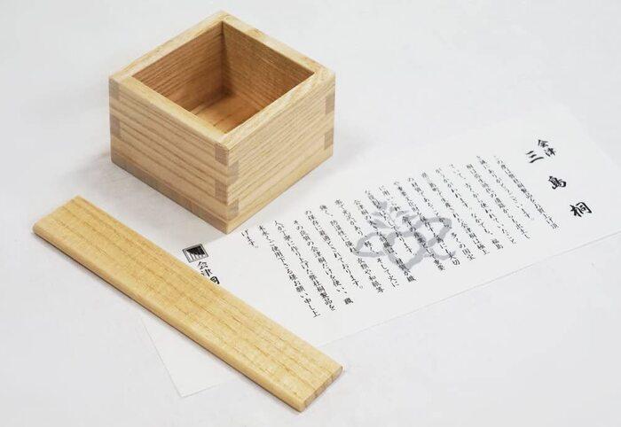日本製 会津桐 本格桐米びつ 10kg用 キャスター付き