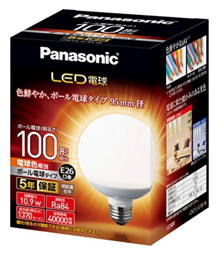 パナソニック LED電球 口金直径26mm 電球100形相当 電球色相当(10.9W)