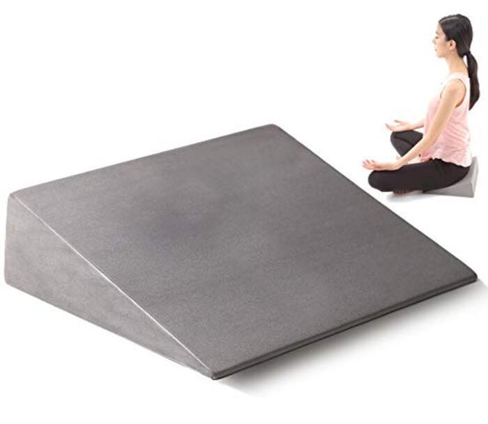 Zenフォーム ストレッチ ふくらはぎ 姿勢矯正 クッション 瞑想 マインドフルネス 座禅 開脚 子供 大人 [背筋まっすぐ姿勢をサポート] 【Fungoal】