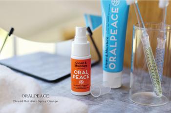 ネオナイシン-e®を配合した口腔ケアスプレー。虫歯や口臭などの原因菌の殺菌効果があります。100%天然由来成分で幅広い年代で安心して使えるのも嬉しい。口の中にスプレーを数回プッシュするだけです。
