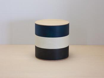 重箱のイメージを覆すモダンな容器です。色の組み合わせがおしゃれ!料理を盛り付けるのはもちろん、小物入れとしても多目的に使えます。