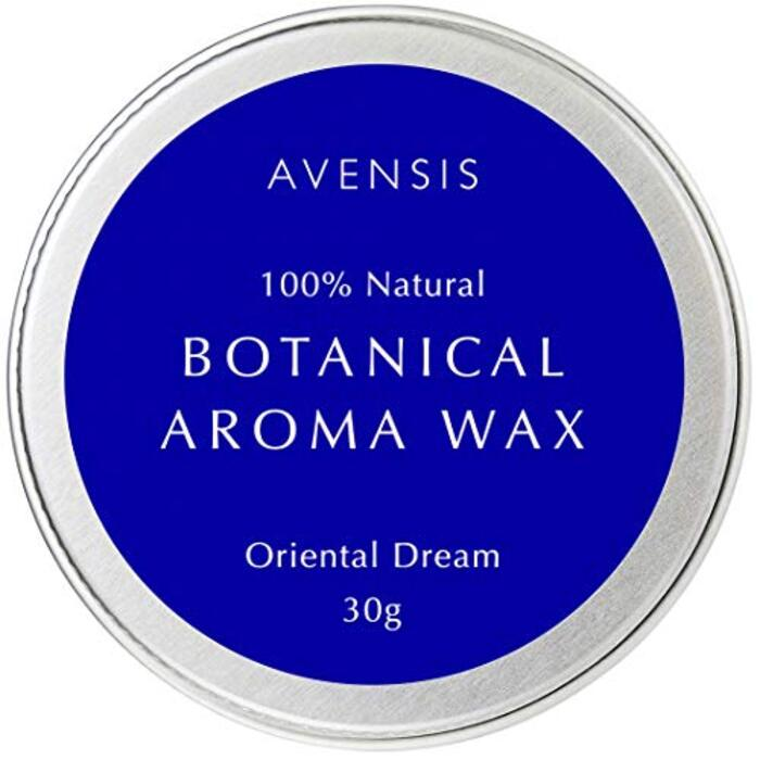 オーガニック ヘアワックス & ハンドクリーム ヘアバーム ボタニカルアロマワックス AVENSIS 30g (オリエンタルドリーム)