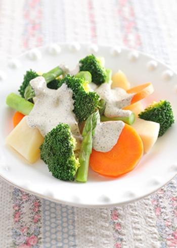 """「冬サラダ」は、ほっと温かな""""加熱野菜""""を主役のレシピにしよう"""