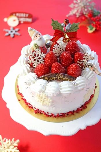 小麦アレルギーの方はもちろん、糖質を控えている方にもおすすめのグルテンフリーのクリスマスケーキ。我慢しないでクリスマスケーキを思い切り楽しんで♪