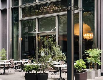 新丸ビルにある「CHOCOLATIER PALET D'OR(ショコラティエ パレ ド オール)東京」は、世界的に有名なショコラティエ、三枝俊介氏が手がけるお店。カカオの本物の香りにこだわったショコラスイーツを味わってみませんか?