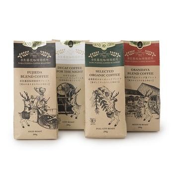 カフェインの摂取を控えている妊婦さん。コーヒー好きな方には、カフェインレスのコーヒーをプレゼントしてみてはいかがでしょうか。【奈良藤枝珈琲焙煎所 おやすみ前のオーガニック カフェインレス】は有機JAS認定を受けた農園で栽培された豆を使用し、コクのあるすっきりとした味わいが特徴です。鹿のイラストのパッケージが可愛らしく上品で、ギフトにもおすすめです。