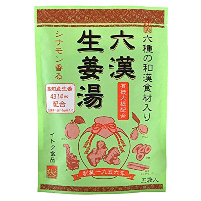 イトク食品 六漢生姜湯 80g ×10袋