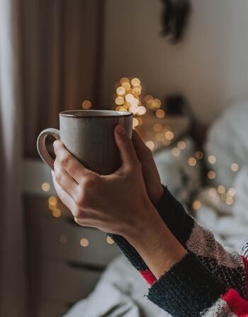 甘いベルリーナは紅茶やコーヒーによく合います。ちなみにドイツではハーブティーやフルーツティーの種類が豊富!お気に入りを探してみるのも楽しいです◎
