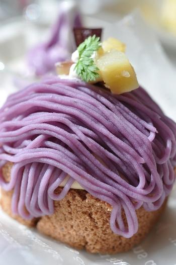 旬を味わおう!人気の「紫芋」レシピ集。サラダにおかず、スイーツまで♪