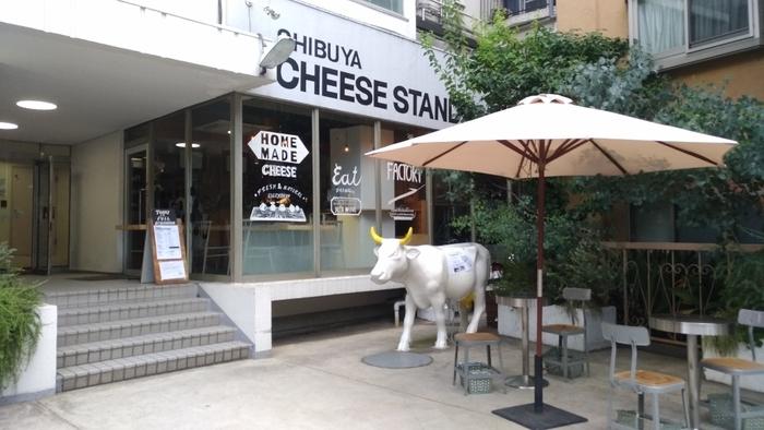 """""""街に出来たてのチーズを""""をコンセプトとしたチーズ専門店「渋谷チーズスタンド」。代々木公園駅から歩いて約6分です。"""