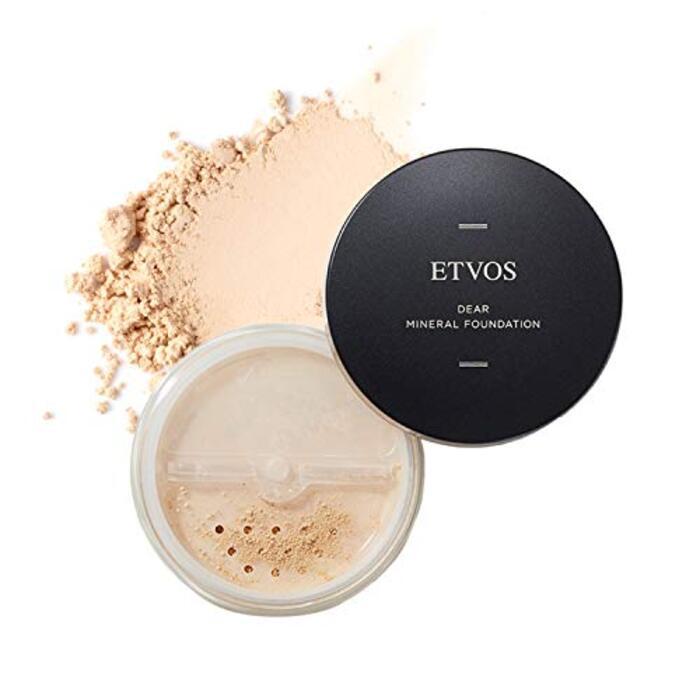 ETVOS(エトヴォス) ディアミネラルファンデーション SPF25/PA++ 5.5g 自然なツヤ肌/透明感 パウダー #30