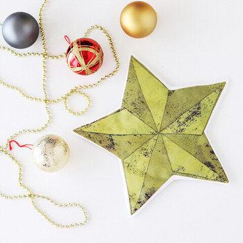 別売で、オーナメントキットも販売中。手作りのオーナメントが、きっといつもとは違った特別なクリスマスを演出してくれるはず。